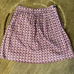 ~Brooks Brothers~ Pattern Skirt